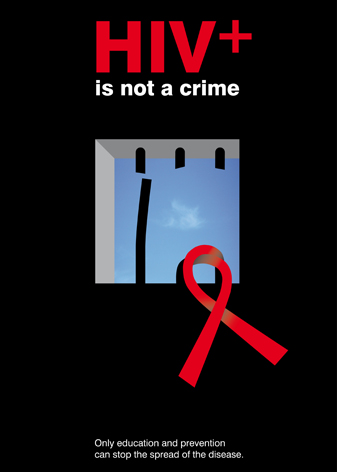 hiv+ is not a crime