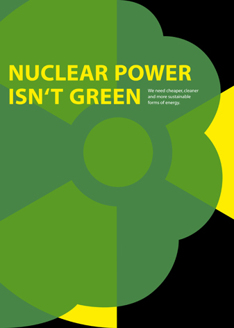 nuclear power isn't green